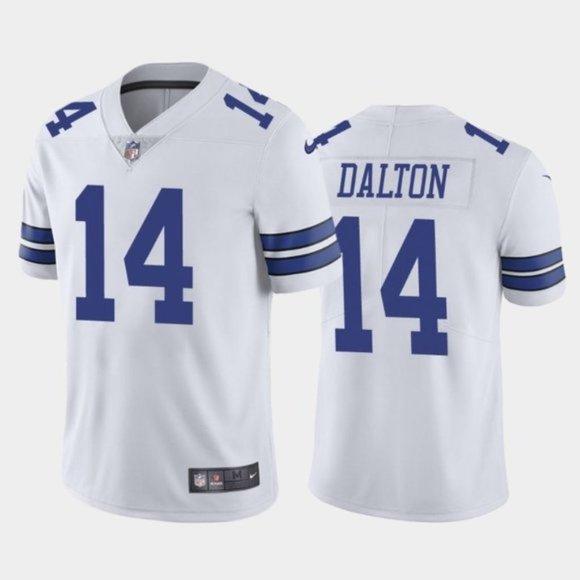 Dallas Cowboys Andy Dalton White Jersey NWT